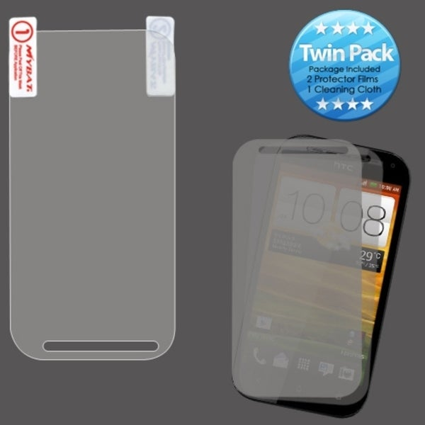 INSTEN Clear Screen Protector LCD Guard Twin Pack for HTC One SV