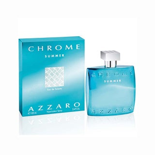 Loris Azzaro Chrome Summer Men's 3.4-ounce Eau de Toilette Spray