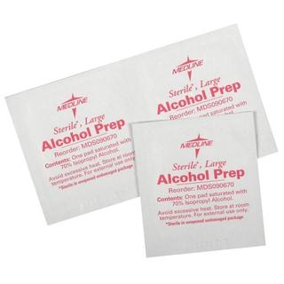 Medline Sterile Alcohol Prep Pad (Case of 1 000)