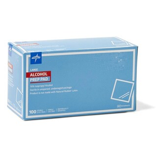 Medline Sterile Alcohol Prep Pad (Case of 1,000)