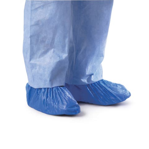 Medline Polyethylene Shoe Covers (Case of 1000)