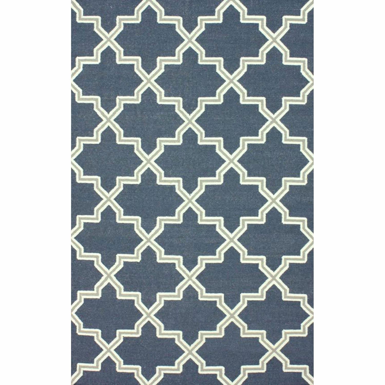 nuLOOM Handmade Flatweave Marrakesh Lattice Wool Rug (5' ...