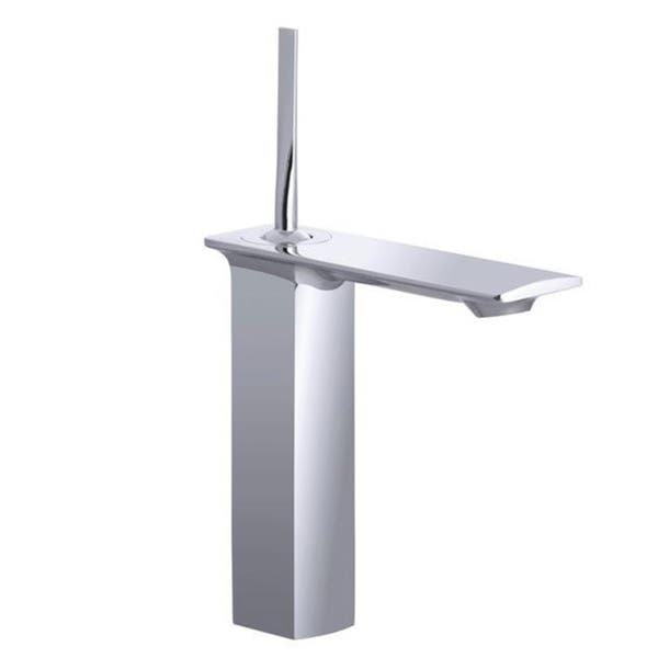 Kohler Stance Polished Chrome Tall Single Handle Bathroom Sink Faucet Overstock 7990777