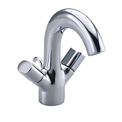 Kohler Oblo Two-handle Monoblock Lavatory Faucet