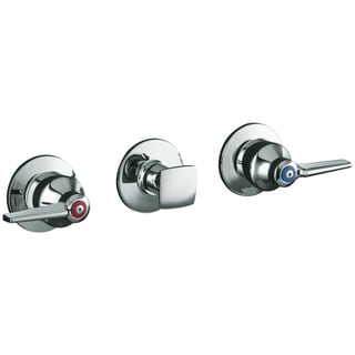 Kohler Triton Wall Mount 2-handle Valve Trim with Push Button Diverter