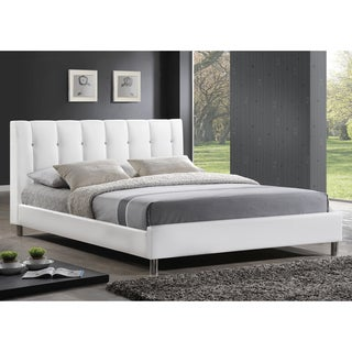 Baxton Studio Vino Modern Upholstered Full-size Bed