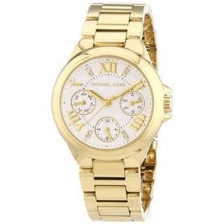 Michael Kors Women's MK5759 Camille Goldtone Watch