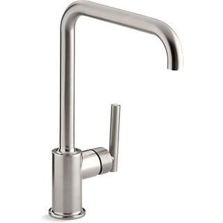 Kohler Purist Steel Swing Spout Kitchen Faucet