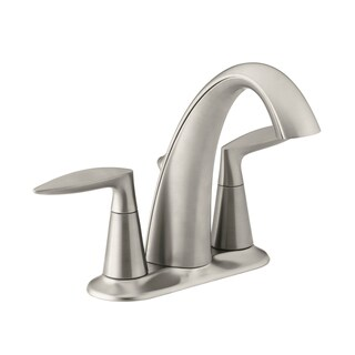 Kohler Alteo (R) Centerset Brushed Nickel Lavatory Faucet
