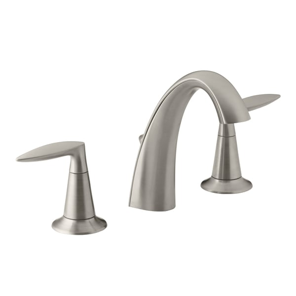 Shop Kohler Alteo R Widespread Brushed Nickel Lavatory