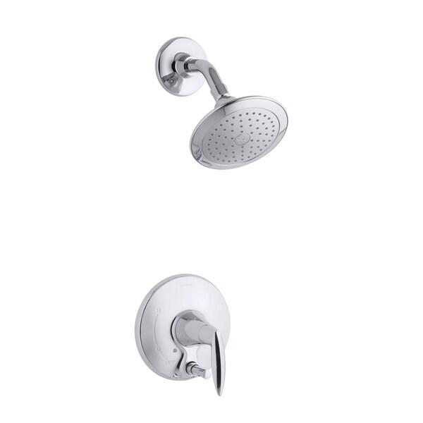 Shop Kohler Alteo Polished Chrome Shower Trim With Push