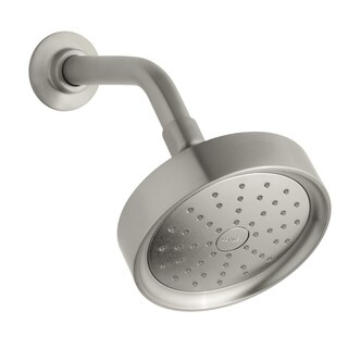Kohler Purist Brushed Nickel Single Function Shower Head with Katalyst Spray