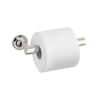 Kohler Purist Polished Nickel Pivoting Toilet Tissue Holder