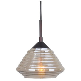 Woodbridge Lighting Queen Style 1-light Mini Pendant