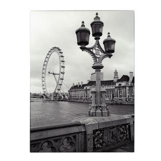 Kathy Yates 'London Eye' Canvas Art
