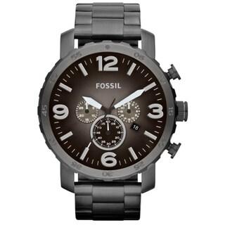 Fossil Men's 'Nate' Chronograph Smoke Watch|https://ak1.ostkcdn.com/images/products/7992304/P15359420.jpg?_ostk_perf_=percv&impolicy=medium