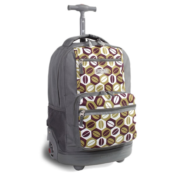 J World 'Sunset' 18-inch Rolling Backpack