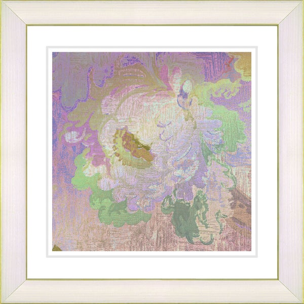 Studio Works Modern 'Tapestry Rose' Framed Print