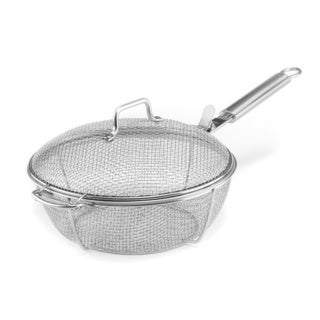 Maverick Stainless Steel Mesh Chefs Pan