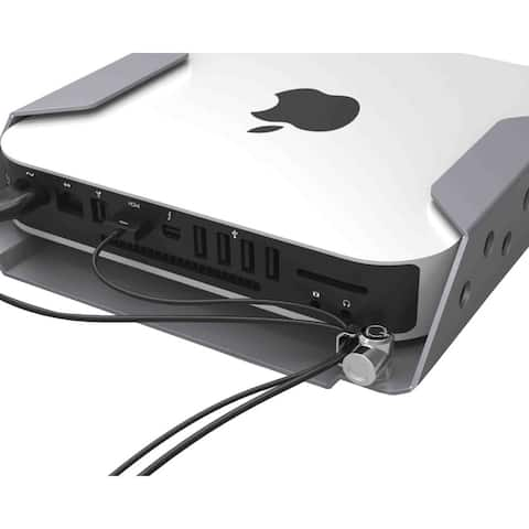 Mac Mini Secure Mount Enclosure with Lockable Head