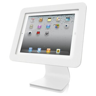 All in One- iPad Rotating and Swiveling Stand White