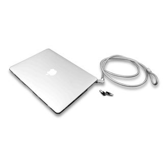 MacBook Air 13 Inch Lockable Case Bundle With T-Bar Cable Lock and Ma