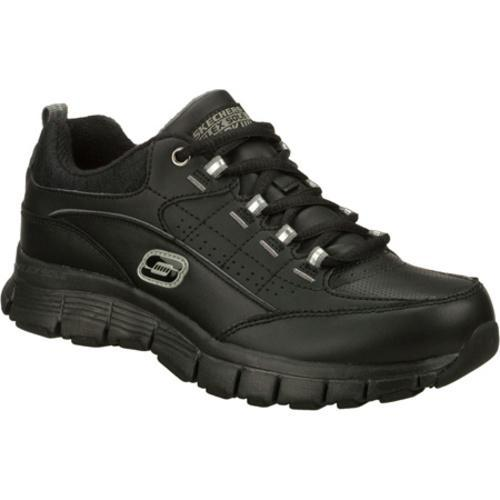 Women's Skechers Work Flex Fit SR Leaper Black