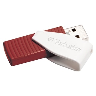 Verbatim 16GB Swivel USB Flash Drive - Red