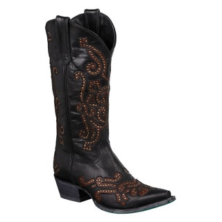 Lane Boots Women's 'Gianna' Leather Cowboy Boots