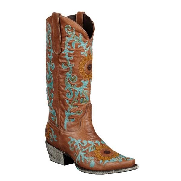 Lane Boots Women's 'Sunflower' Cowboy Boots