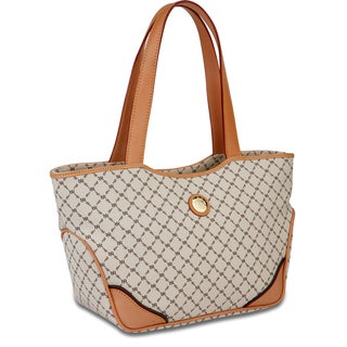 Rioni Signature Natural Tulip Tote