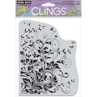 Hero Arts Cling Stamps-Leafy Vines