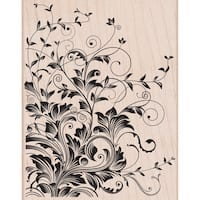 "Hero Arts Mounted Rubber Stamps 4.5""X3.75""-Leafy Vines"