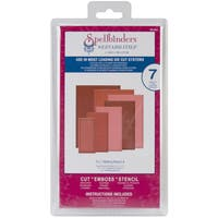 "Spellbinders Nestabilities Card Creator 5""X7"" Dies-Matting Basics A"