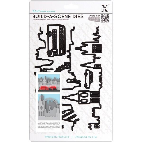 Xcut Build-A-Scene Dies 8 Pieces-London