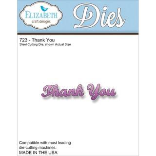 Elizabeth Craft Metal Die-Thank You