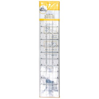 "Fabric Ruler 3""X15""-"