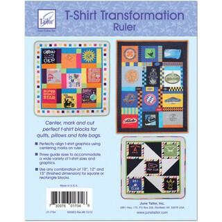 T-Shirt Transformation Ruler-15-1/2inX15-1/2in