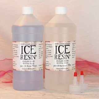 Ice Resin 64oz Refill Kit-32 Oz Resin, 32 Oz Hardener