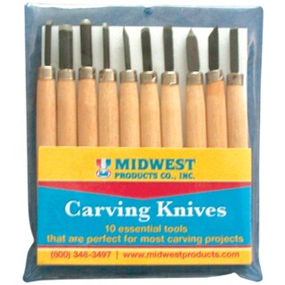 Carving Knive Set 10 Pieces-