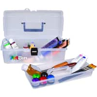 """ArtBin Lift-Out Tray Box 14""""-Clear"""
