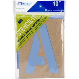 """Stencil-It Reusable Lettering Set-10"""""""