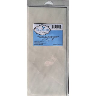 "Elizabeth Craft Double Sided Adhesive 5""X12"" Sheet 5/Pkg-"