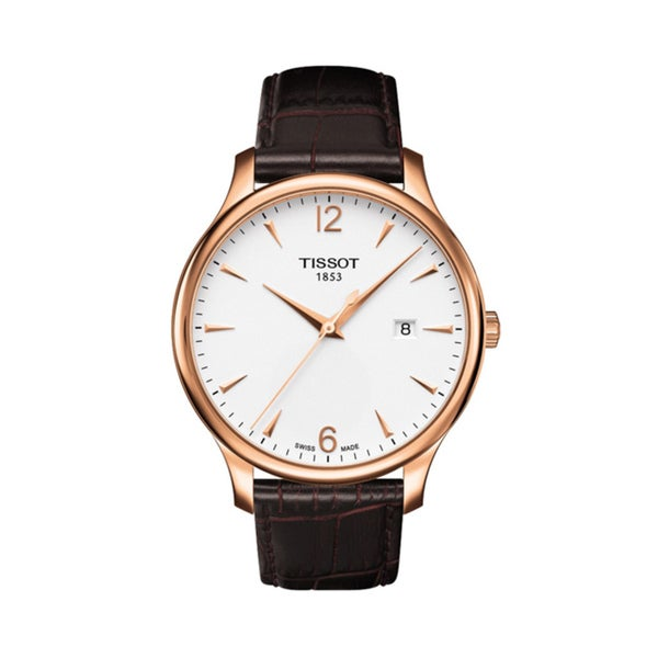 Tissot Men's Tradition Rose-goldtone Watch