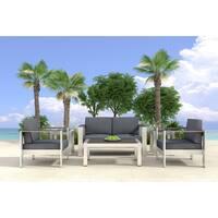 Cosmopolitan Brushed Aluminum Sofa Frame Free Shipping