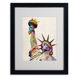 Michael Tompsett 'Statue of Liberty' Framed Mattted Art