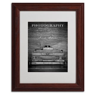 Philippe Saint-Laudy 'Photography B & W' Vertical Framed Mattted Art