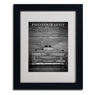 Philippe Saint-Laudy 'Photography B & W' Framed Mattted Art