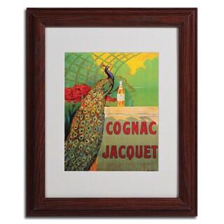 Camille Bouchet 'Cognac Jacquet' Framed Giclee Print Matted Art