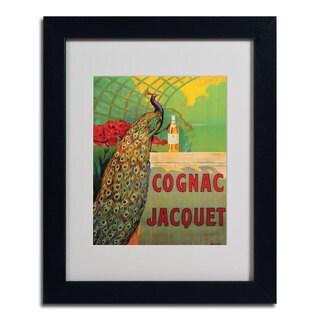 Camille Bouchet 'Cognac Jacquet' Framed Matted Art